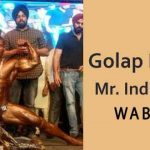 Golap Rabha_WABBA Mr India 2017