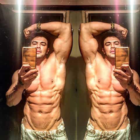 Sahil Khan Posing