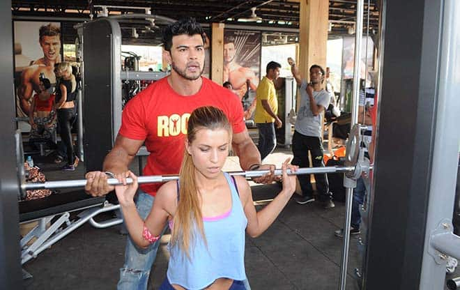 Sahil-Khan-training