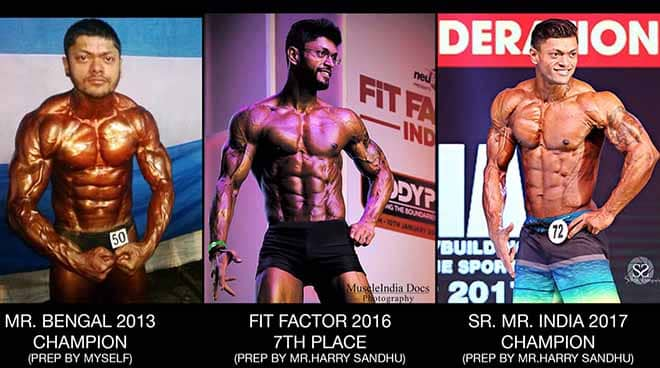 Sumit Banerjee Transformation over the years