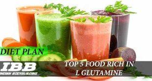 Top 5 Food for L Glutamine