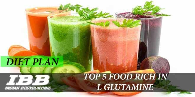 Top 5 Food for L Glutamine