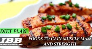 Food to Gain Muscle Mass and Strength