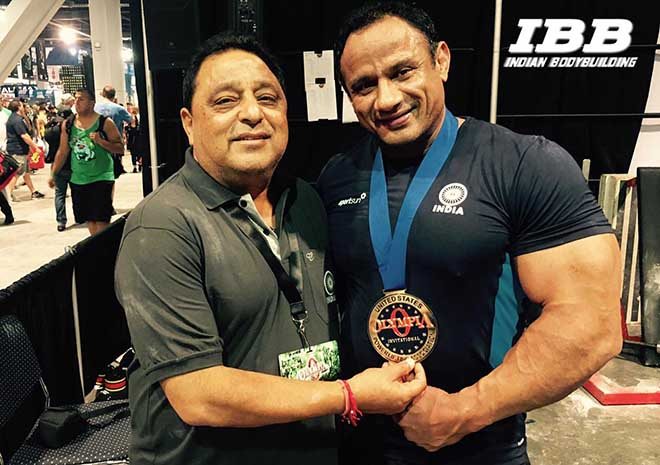 Mukesh Singh Wins Gold at Pro Olympia