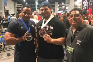 Mukesh Singh at Olympia Power Lifting