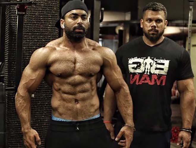 Junaid Kalliwal with Biki Singh