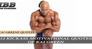 Kai Greene Motivational Quotes