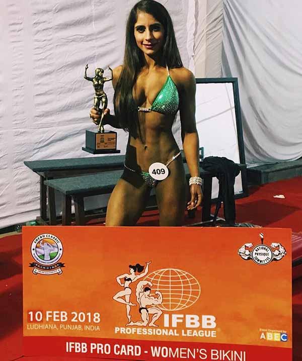 Navreet Josan wins IFBB Pro Card