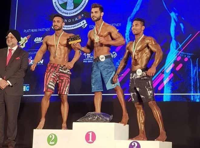 Pankaj Gajwani Gold Medal at Sheru Classic