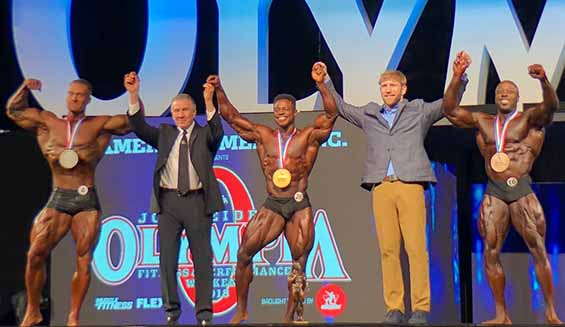 Mr Olympia 2018 Classic Physique Winners