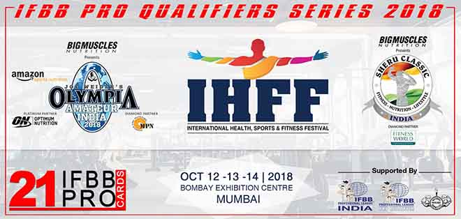 Amatuer Olympia India 2018