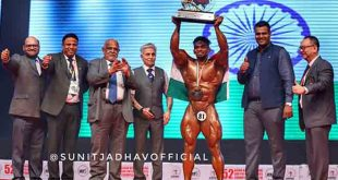 Sunit Jadhav Mr Asia