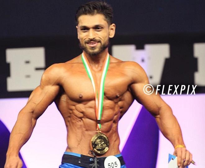 Sandeep Yadav wins Gold at Amateur Olympia