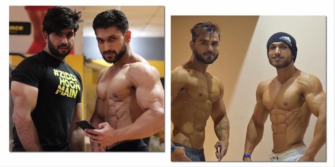 Sandeep Yadav with Trainer Deepak Gurawaliya
