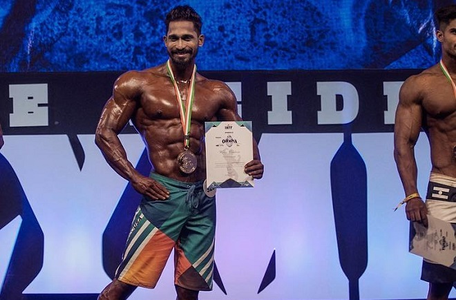 Jiten Marke wins Pro card at IHFF Amateur Olympia
