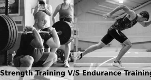 Difference strength and endurance training