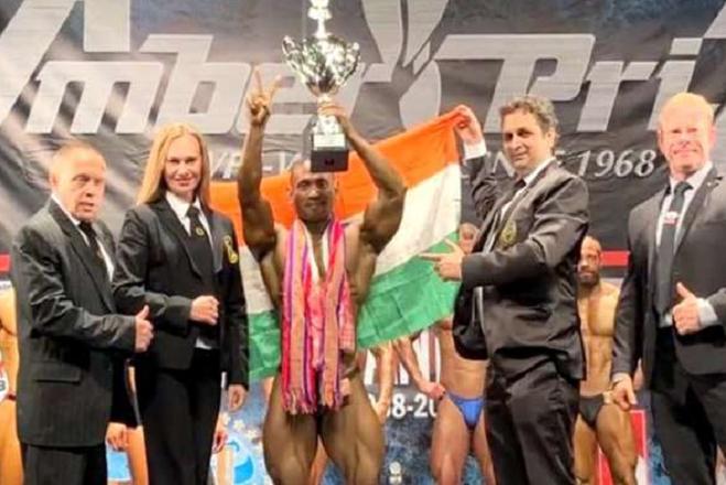 Golap Rabha Mr world 2018