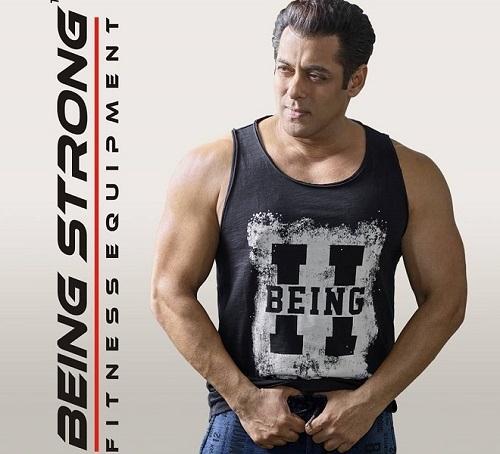 Salman Khan Being strong