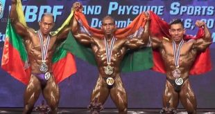 Nitin Mhatre wins Gold World bodybuilding 2018 results