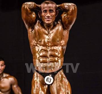 Arambam Boby mr world title