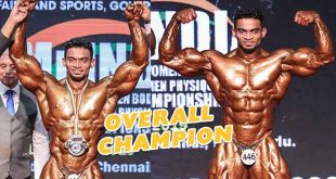 Sunit Jadhav Wins Mr India 2019